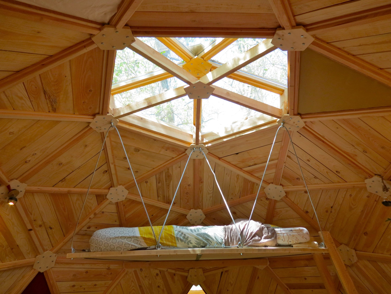 Dôme en bois