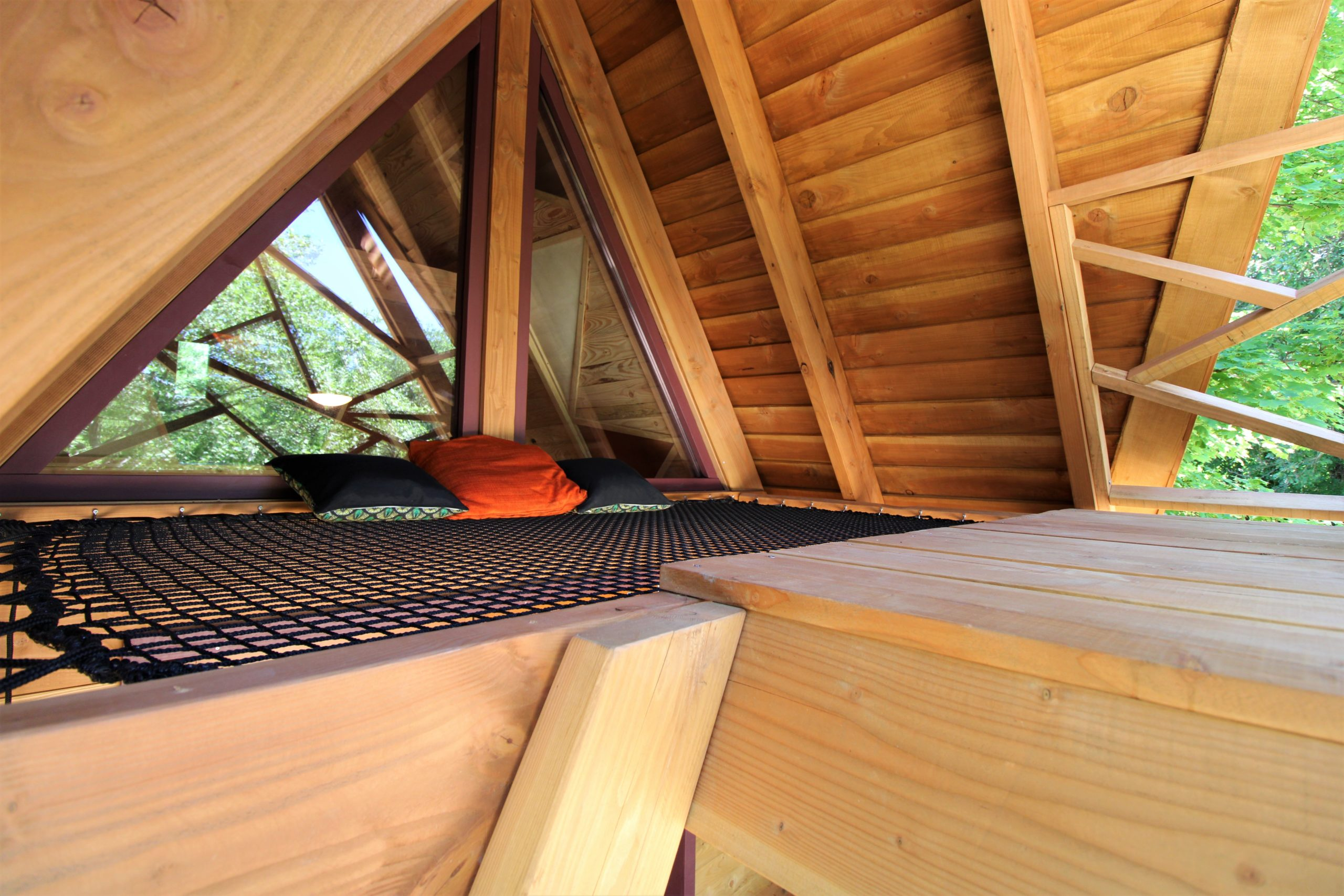 La cabane en A - Herbergement insolite Drôme